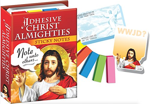 Adhesive Christ Almighties - Jesus Sticky Notes Booklet - 6 Pack