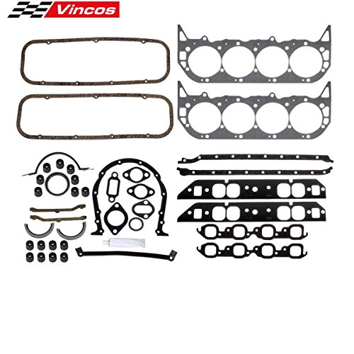 Big Block Chevy Engine Overhaul Gasket Kit 396 427 454 BBC/260-1009 Replacement for 1965-1975 Chevrolet Bel Air 1975-1978 GMC C25 Pickup 1965-1970 Pontiac Strato-Chief 1968-1974 GMC K35/K3500 Pickup