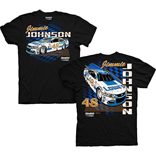 Jimmie Johnson 2017 Darlington Throwback Lowe's NASCAR T-Shirt (XXLarge)