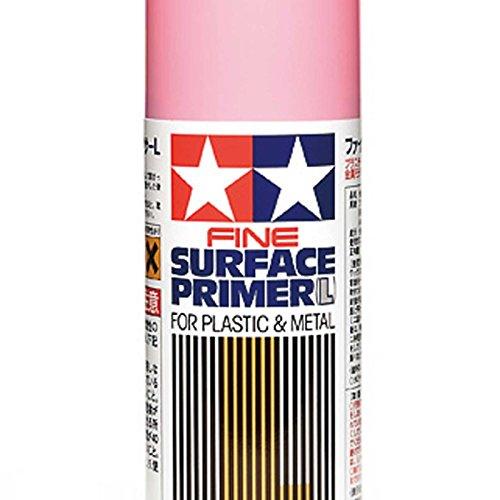 Spray, Fine Surface Primer, L. Pink, 180ml (Tamiya Primer Surface)
