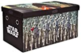 Star Wars Storage Bench and Toy Chest, Officially Licensed, Perfect for any Playroom or Bedroom