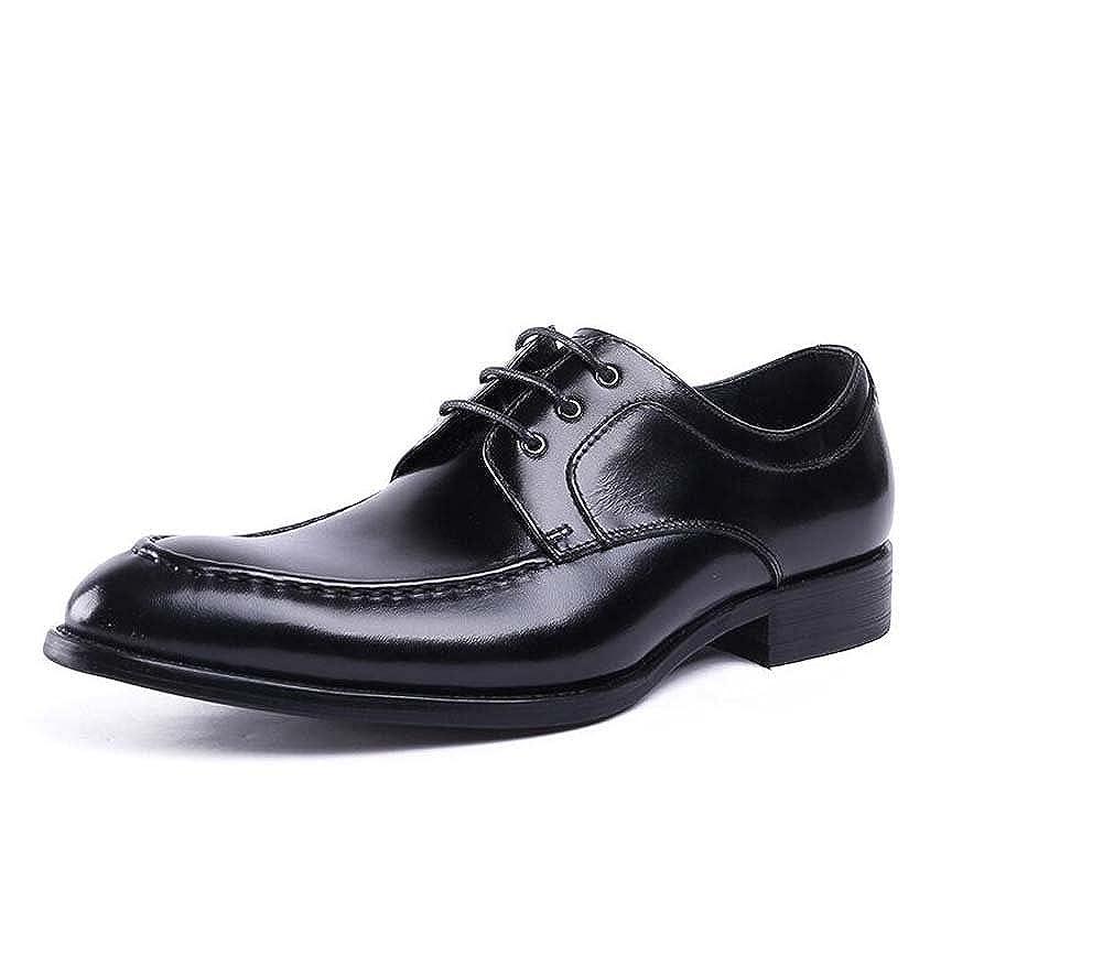 Noir MYI Chaussures pour pour Hommes British Tip Chaussures de Travail Affaires Costumes Chaussures de Mariage en Cuir Nouveau  magasins d'usine