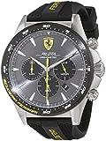 Scuderia Ferrari Mens Chronograph Quartz Watch with Silicone Strap 0830594