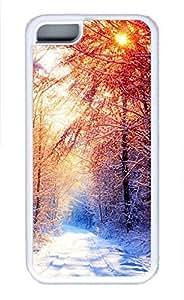 LJF phone case iphone 4/4s case, Cute Winter 2 iphone 4/4s Cover, iphone 4/4s Cases, Soft Whtie iphone 4/4s Covers