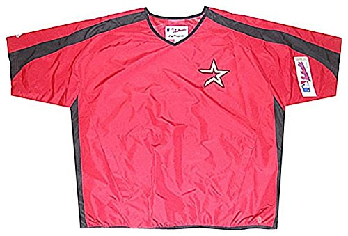 Houston Jacket Astros (VF Houston Astros MLB Mens Batting Practice Red Jacket Size 2XL)
