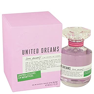 United Dreams Love Yourself Perfume by Bénétton - Agua de Colonia para Mujer: Amazon.es: Electrónica