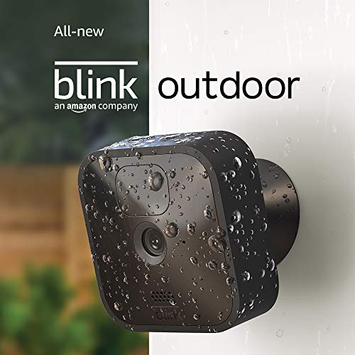 All-new Blink Outdoor – wi-fi, weather-resistant HD safety digital camera with two-year battery existence and movement detection – 1 digital camera package