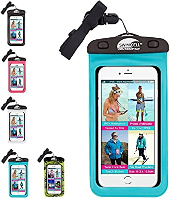 SwimCell #1 Waterproof Phone Case Pouch for iPhone and