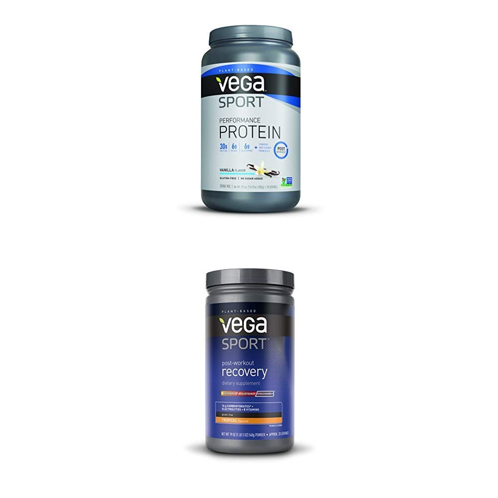 Vega Post Workout Bundle, Vega Sport Protein with Vega Sport Recovery