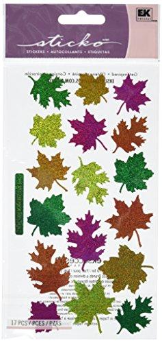 Sticko Classic Stickers-Metallic Leaves]()