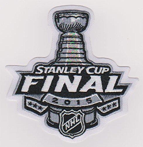 2015 NHL Stanley Cup Final Jersey Patch Hockey Chicago Blackhawks Tampa Bay Lightning