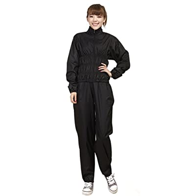 BIKMAN Two-piece Sauna Suit Weight-loss Exercise Sports Wear Gym Suit