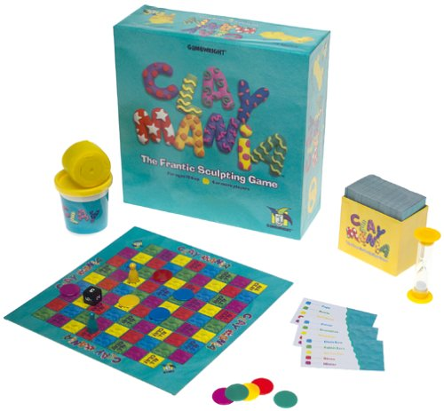 CLAY MANIA The Frantic Sculpting Game Gamewright