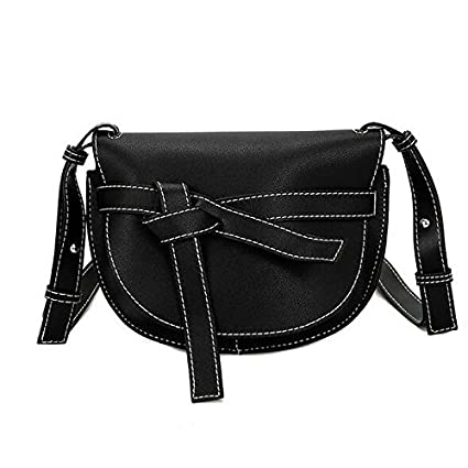 cbd5a74936b3 Amazon.com: GMYANDJB Women's Bags PU Polyurethane Shoulder Bag Bow(s ...