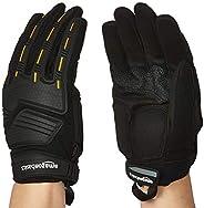 AmazonBasics Premium Impact Gloves - Black, L