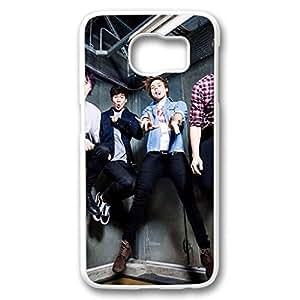 iCustomonline Case for Samsung galaxy S6 PC, 5 seconds of summer 5sos Printed Case for Samsung galaxy S6 PC