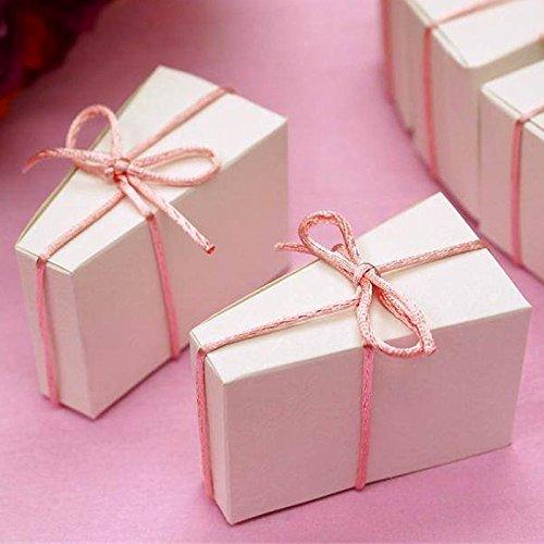 Efavormart Cake Slice Favor Box-100pc -