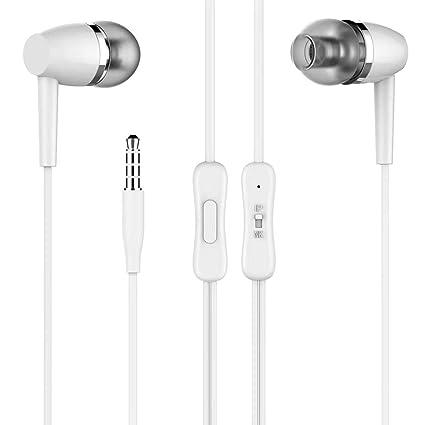 c4fd776cfbd SellnShip Z23 in Ear Headphones with Mic Earphones Bass Stereo Sound Headphone  Wired Earphone - White