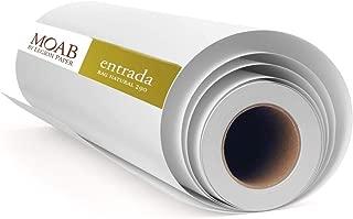 product image for Moab Entrada Rag Natural 290 g ERN2904440 Inkjet Cotton Paper 111.8 cm x 12.2 m