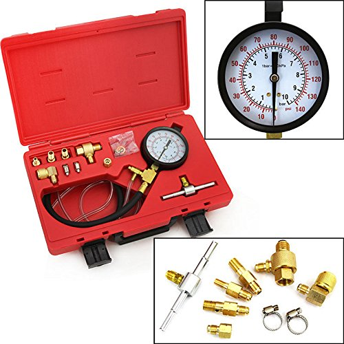 Professional gas Fuel Pressure injected systems pump tester Spray Diagnostic new