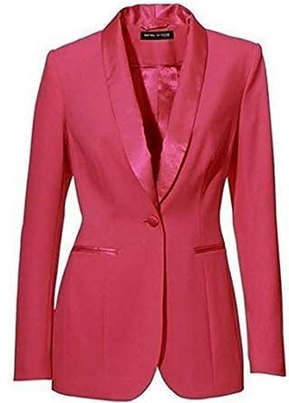 Heine - Chaqueta de traje - para mujer Koralle 34: Amazon.es ...