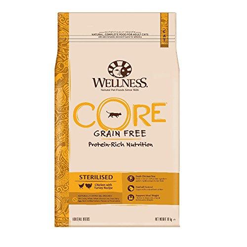 Wellness CORE Sterilised Getreidefreies Katzenfutter Trocken, Hoher Fleischanteil