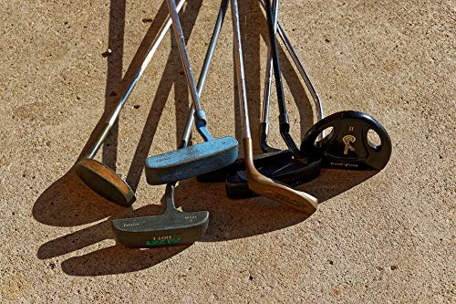Home Comforts Second Hand Rusty Clubs Old Golf Clubs Golf Putters Vivid Imagery Laminated Poster Print 24 x 36