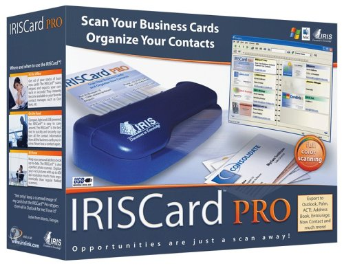 IRISCard Pro Business Card Scanner