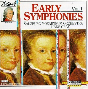Mozart Early Symphonies 1