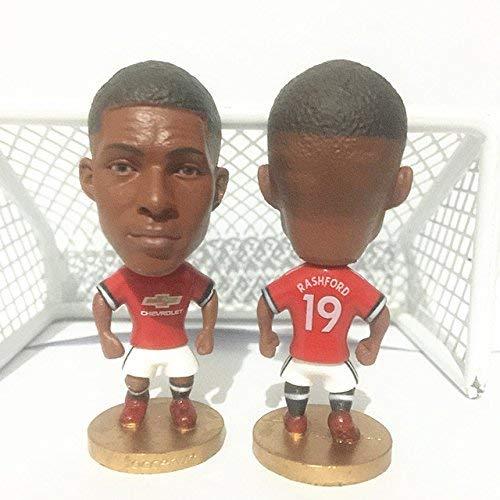 "Manchester United #19 Marcus Rashford Toy Figure 2.5"""