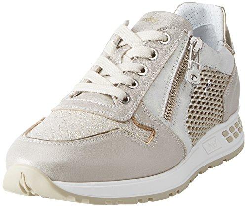 Stars Beige Sneaker Giardini Donna Savana Nero B4PqgxYwn