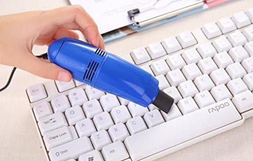 bescita Mini aspiradora USB portátil ordenador teclado cepillo polvo mano limpia Kit, color Random: Amazon.es: Oficina y papelería