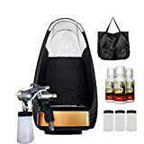 MaxiMist Allure Pro Sunless Spray Tanning System w Tent (Black)