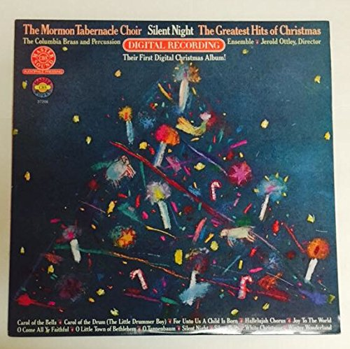 1980 Mormon Tabernacle Choir Silent Night Their First Digital Christmas Album Greatest Hits Jerold Ottley CBS Master Sound Audiophile Pressing 37206 (Best Audiophile Jazz Albums)
