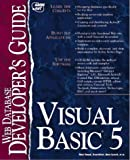 img - for Visual Basic 5 Database Developer's Guide book / textbook / text book