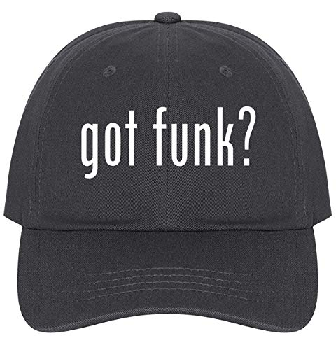 The Town Butler got Funk? - A Nice Comfortable Adjustable Dad Hat Cap, Dark Grey