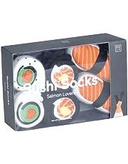 UNTIL Salmon Lovers Sushi Socks 3 Pair Gift Set