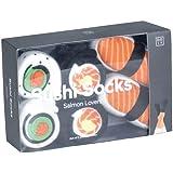 Bento Box Filled WIth Sushi Maki Socks
