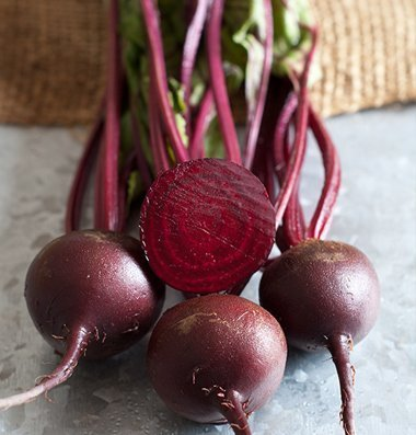 David's Garden Seeds Beet Babybeat D3871A (Purple) 200 Open Pollinated Seeds
