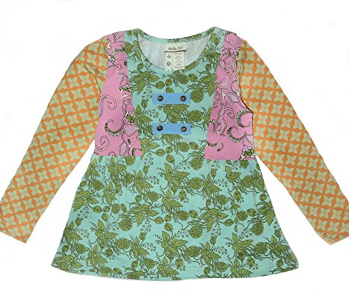 New Matilda Jane Girls Secret Fields Cottonwood Blossoms Tee - Kids Cottonwood