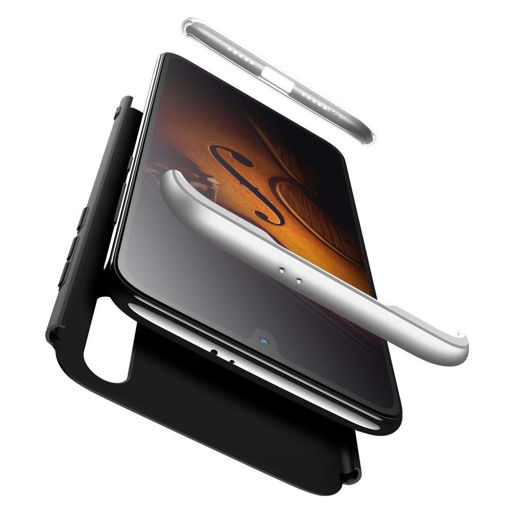 Funda Compatible Xiaomi Redmi Note 5A Prime//Redmi Y1 Cristal Templado,Azul /& Negro 3 in 1 Slim Fit Protectora cover Caso Carcasa Choque Resistente 360/°Protecci/ón Ultra Slim Cubierta PC Hard Case