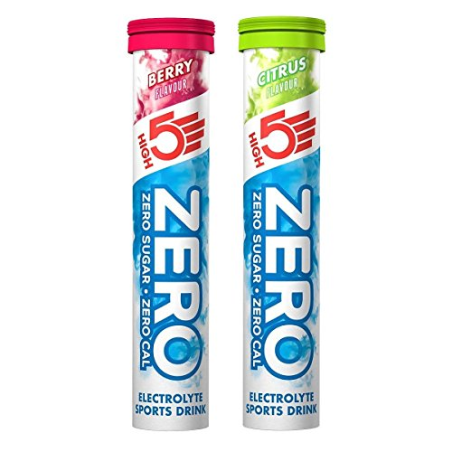 High5 Zero Electrolyte Sports Drink Tube of 20 tabs - Buy 1 Get One Free (1...