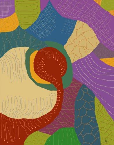 グリーンリーフアートLife 1キャンバスアート、ミディアム