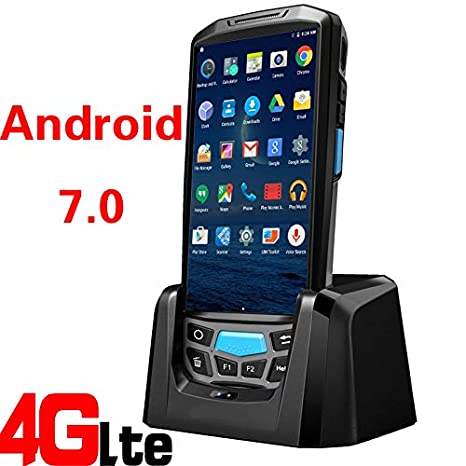 TQ WiFi/Blue Tooth / 4G Resistente Pos Android escáner de ...