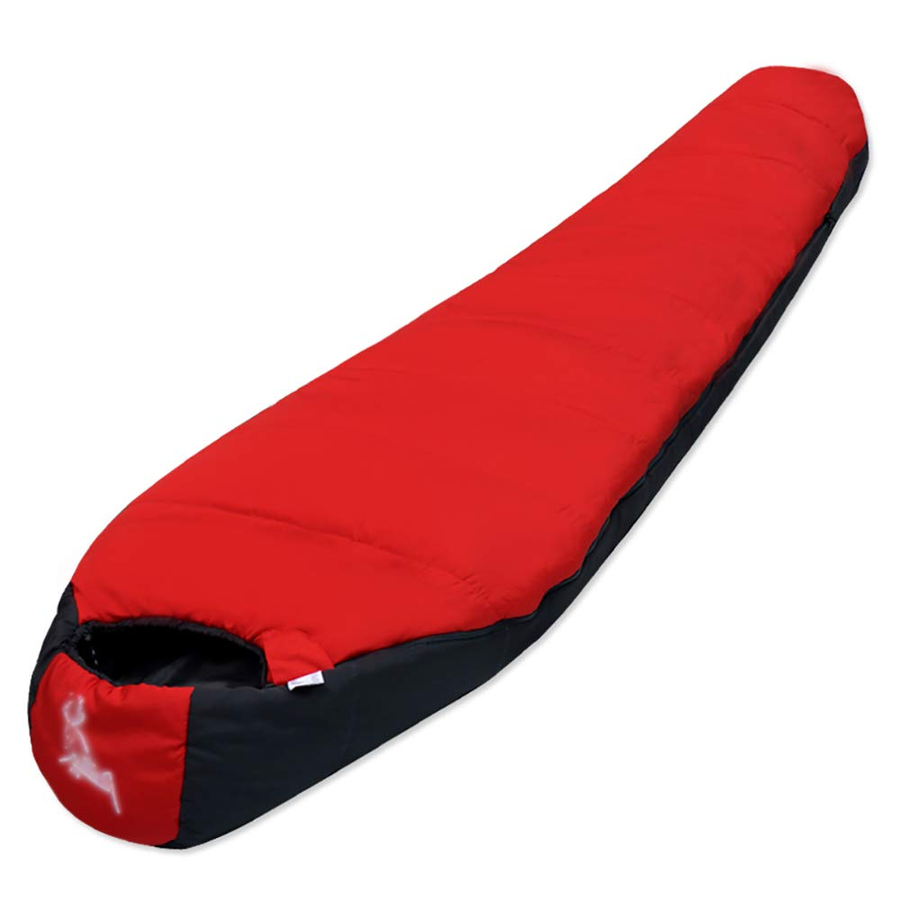 YYSD Schlafsack, Camping Outdoor Reise warmen Schlafsack, Vier Jahreszeiten Portable Spleißen wasserdicht feuchtigkeitsdichten Single Schlafsack