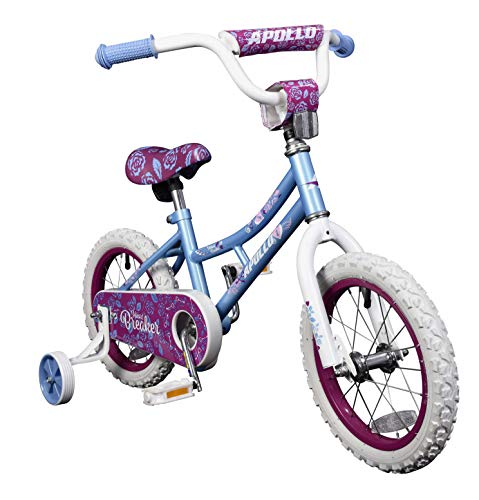 Apollo Heartbreaker Bicycle in 5 Sizes for Kid's Ages 2 to 12