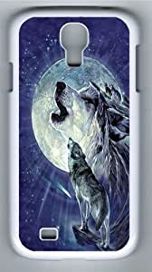 Full Moon Gravity Polycarbonate Hard Case Cover for Samsung Galaxy S4/Samsung Galaxy I9500 White
