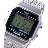 タイメックス TIMEX デジタル クラシック クオーツ ユニセックス 腕時計 TW2P48300 ブラック/シルバー