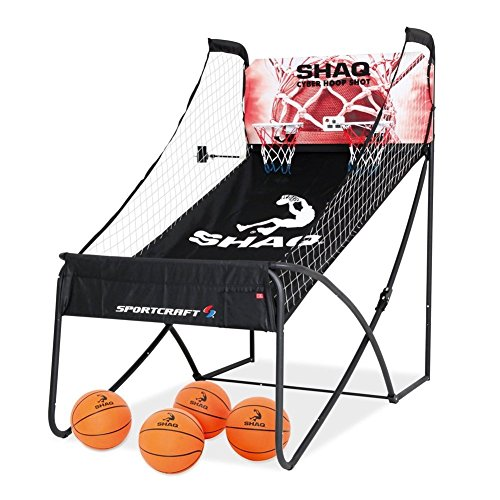 Shaq and Sportcraft Basketball Double Hoop Shot Arcade Conventional Plus Online App Game Sportcraft