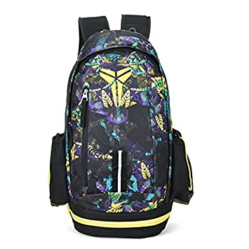 9ca0bf7f23ea Nike Kobe Mamba Basketball Backpack Bag Yellow
